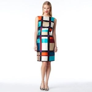 Kate Spade Purdy Block Colorful Dress
